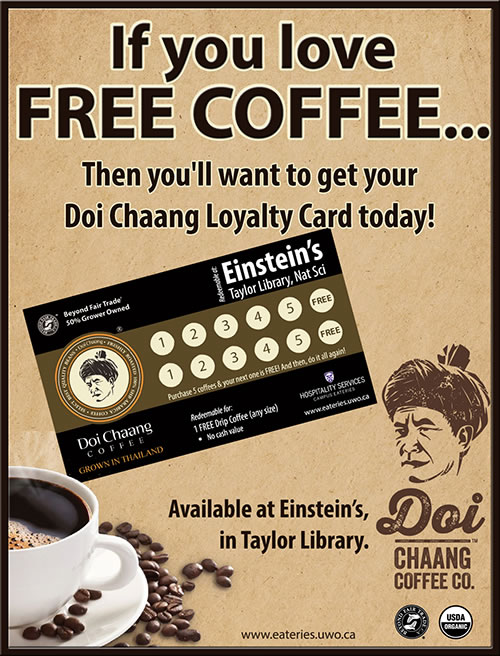 If you love FREE coffee...